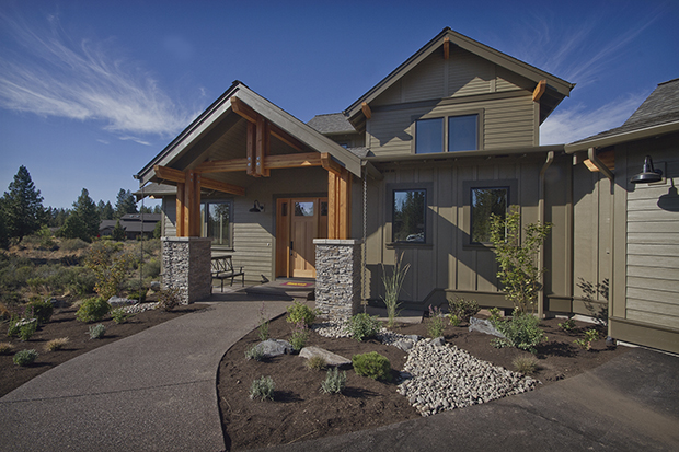 Northwest craftsman home builder bend or greg welch for Pnw home builders