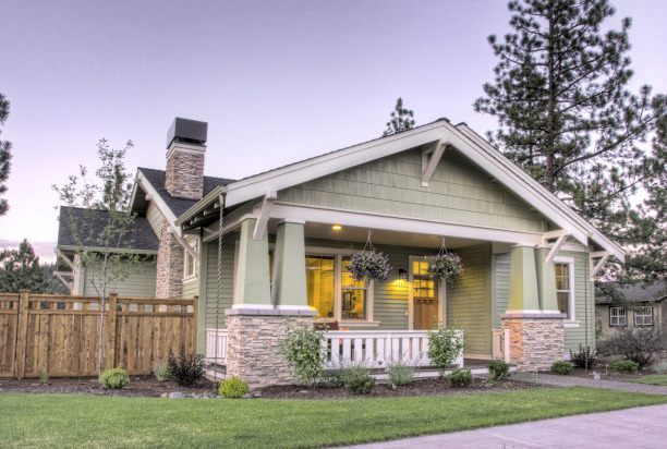 Traditional Craftsman Bend Oregon Home